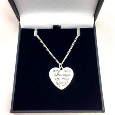 Always in My Heart Necklace | Someone Remembered